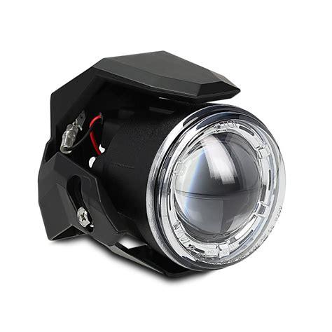 led zusatzscheinwerfer motorrad e geprüft motorrad zusatzscheinwerfer set lumitecs s3 led mit e zulassung ebay