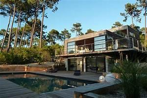 la villa mogador chambre d39hotes et villa a louer au cap With maison a louer cap ferret avec piscine