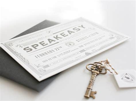 speakeasy invitations prpl speakeasy invitation