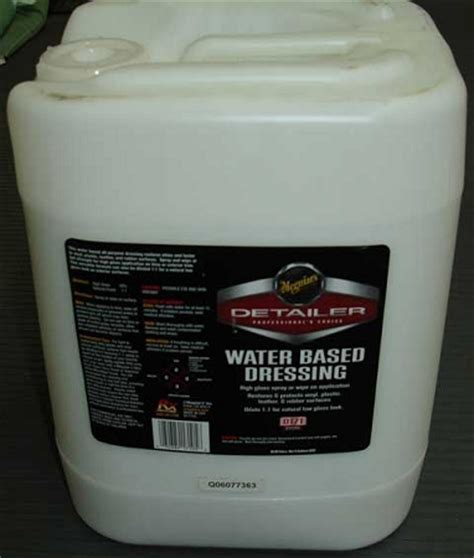 Meguiars D17105 Water Based Dressing   5 Gallon