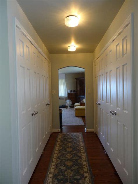 hallway closets traditional closet seattle  rj