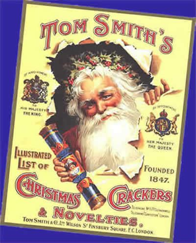 christmas crackers history origins invention read about