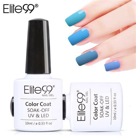 vernis semi permanent le uv ou led elite99 gel uv vernis semi permanent 10ml uv nail gel soak lasting led nail