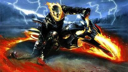 Ghost Rider Skull Scary Halloween Creepy Spooky