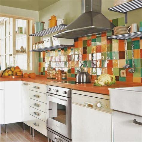 colourful kitchen designs colorful backsplash tiles for kitchens homesfeed 2372