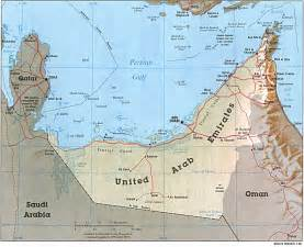 UAE (United Arab Emirates) map, travel information ...