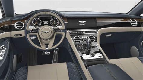 Dimensions Bentley Continental Gt 2018, Coffre Et Intérieur