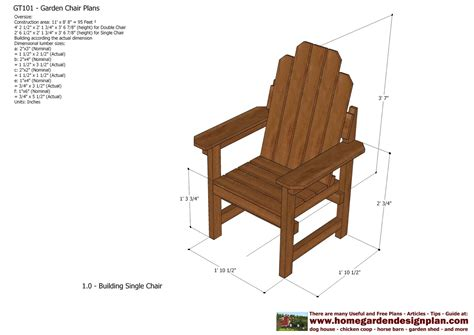 plans for wooden outdoor chairs woodworking projects
