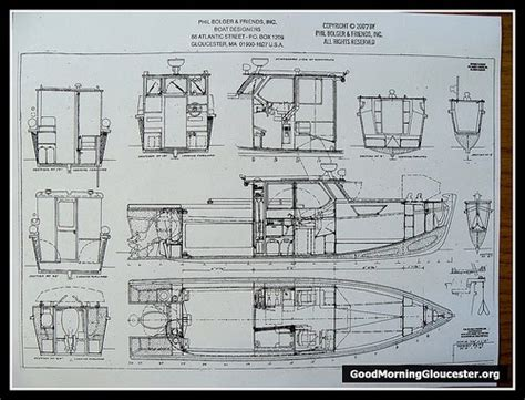 lobster boat plans build chya