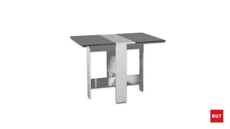 table 60x60 cuisine table de cuisine blanc béton leane but