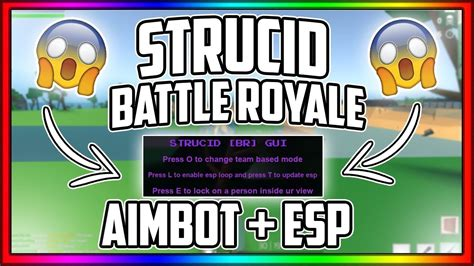 insane strucid battle royale aimbot esp aimbot