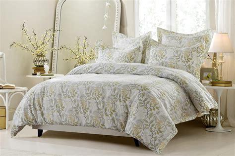 6pc floral vine sage beige bedding set includes comforter