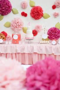 Pink Girls Birthday Party Ideas