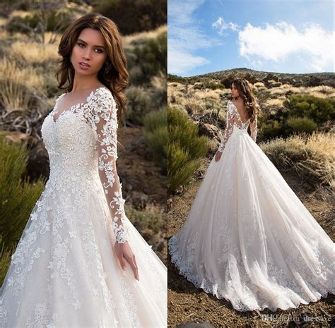 discount ivory tulle princess wedding dresses 2018