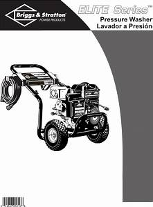 Briggs  U0026 Stratton Pressure Washer 01806 User Guide