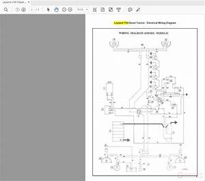 Leyland 154 Diesel Tractor Wiring Diagrams