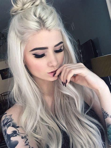 Real Platinum Hair by Meganalicols Hair White