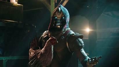 Destiny Cayde Chicken Holding Launch Trailer