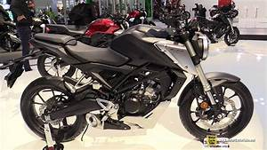 Honda Cb125r 2018 : 2018 honda cb125r neo sports cafe walkaround debut at ~ Melissatoandfro.com Idées de Décoration