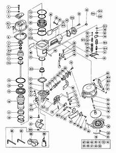 35 Hitachi Nail Gun Parts Diagram