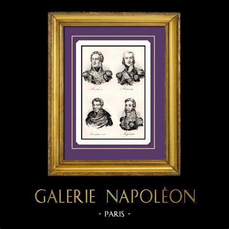Geoffroy van der hasselt / afp. Gravures Anciennes & Dessins | Napoléon - Maréchal d ...