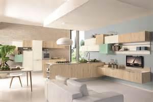 Arredare soggiorno cucina idee per l open space cucine