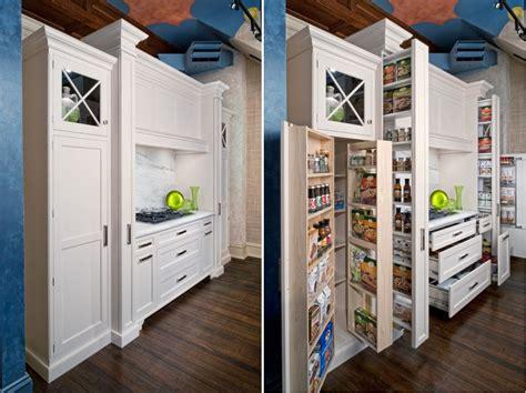 Hidden Storage Solutions For The Kitchen  Home Design