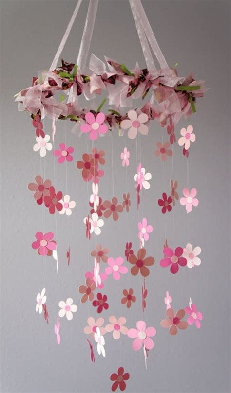 picture of diy floral mobile pin by erin kimmel on baby hazel pinterest