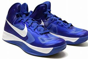 NEW Womens Nike HYPERFUSE 525021 401 Blue White Basketball ...