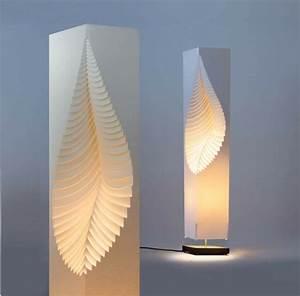 Stehlampe Aus Papier : trendige deko ideen papierlampe schafft romantische ~ A.2002-acura-tl-radio.info Haus und Dekorationen