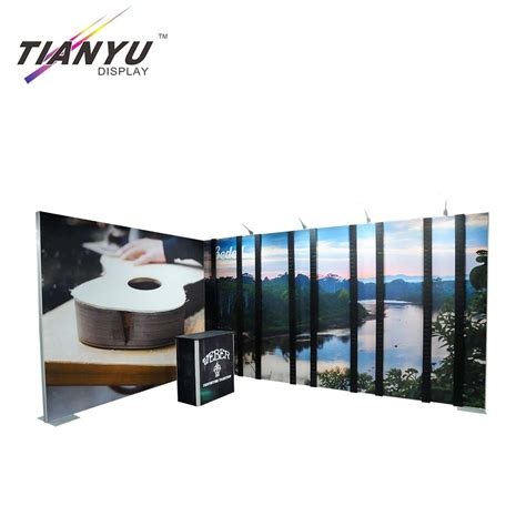 factory supply top quality tradeshow backwall exhibition booth  china manufacturer tianyu
