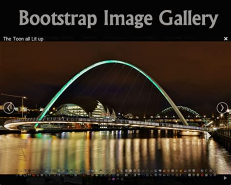 bootstrap gallery bootstrap image gallery jquery plugins