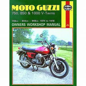 Manual Haynes For 1976 Moto Guzzi 850 Le Mans