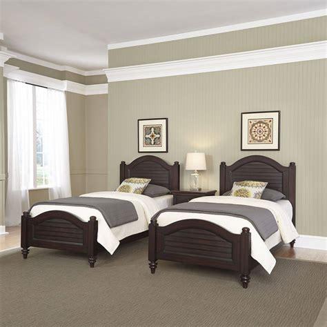 home styles furniture bermuda twin bedroom set twin