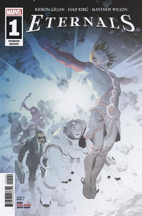 Eternals #1 (Ribic Premiere Cover) | Fresh Comics