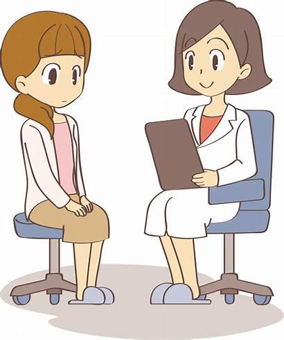 Clipart Doctor Consultation Clip Medical Patient Vector