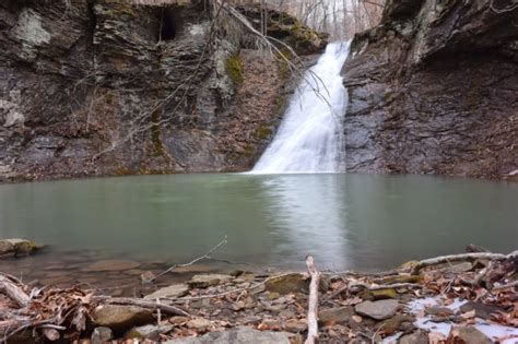 newton county  arkansas    waterfalls