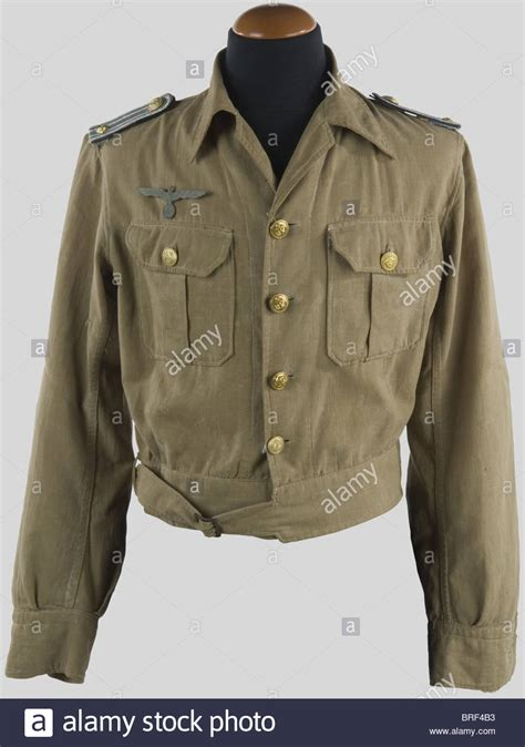 U Boat Jacket by A U Boat Nco Jacket Made Of Beige Cloth With Its