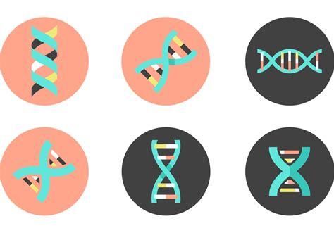 dna double helix vector icons   vector art