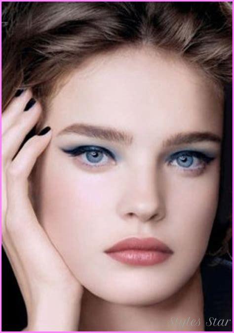 Makeup Color For Blue Eyes Brown Hair Stylesstar Com