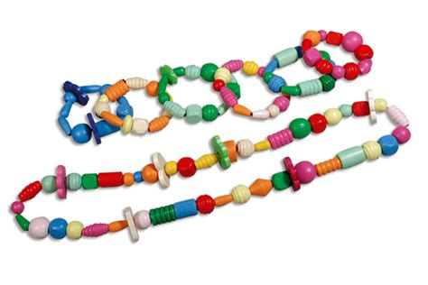 grosses perles en bois bracelets ou collier en grosses perles en bois bijoux