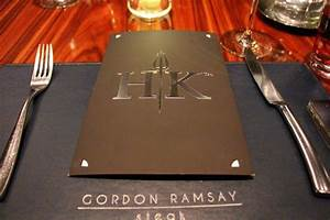 Hell's Kitchen Menu (fixed) - Picture of Gordon Ramsay ...