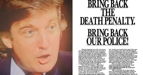 ze gaven hun schuld toe donald trump en de central park  buitenland nieuws hln