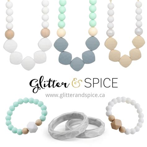 Trendy Silicone Teething Accessories For Mamas Their