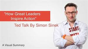 How great leaders inspire action by Simon Sinek - a visual ...
