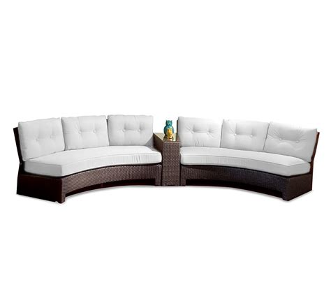 contemporary curved sectional sofa contemporary patio decoration with white sectional sofa