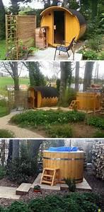 Sauna Für Garten : 74 best eine sauna f r den garten images on pinterest saunas steam room and magazine ~ Markanthonyermac.com Haus und Dekorationen