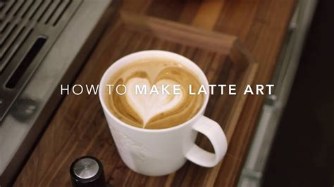 How To Make Latte Art At Home Youtube