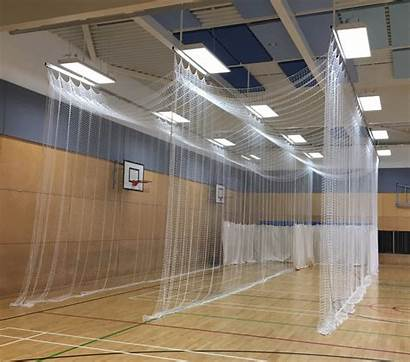 Cricket Indoor Netting Nets Sports Hall Division