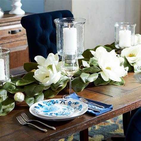 Faux Magnolia Garland in 2020 Magnolia garland Romantic